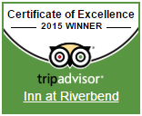 Trip Advisor Certificate of Excellence 2015 Winner
