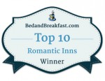 BedandBreakfast.com - Top 10 Romantic Inns Winner